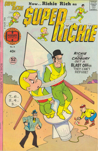 Cover for Superichie (Harvey, 1976 series) #8