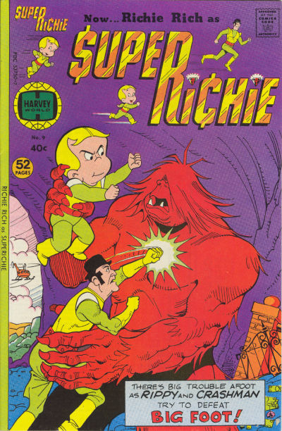 Cover for Superichie (Harvey, 1976 series) #9