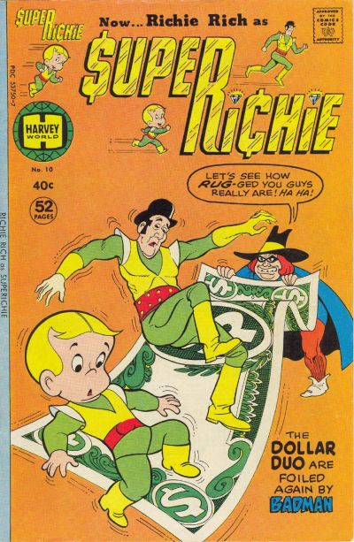 Cover for Superichie (Harvey, 1976 series) #10