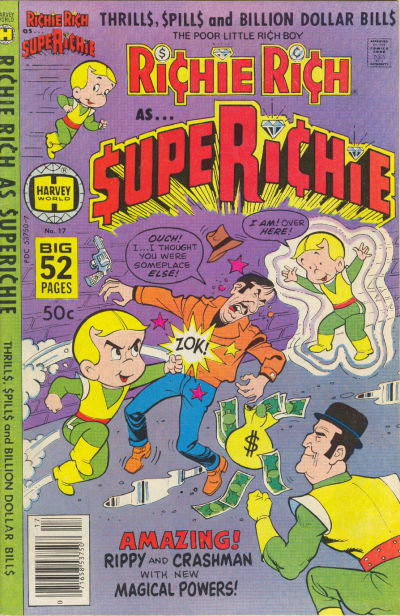 Cover for Superichie (Harvey, 1976 series) #17