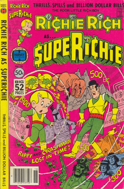 Cover for Superichie (Harvey, 1976 series) #18