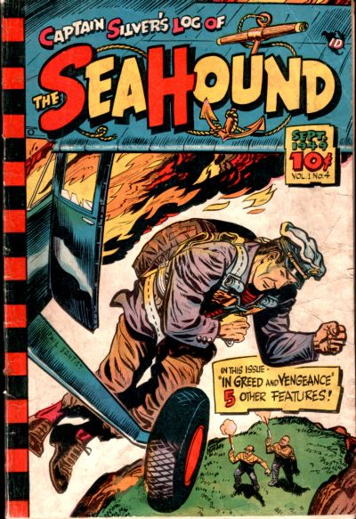 Cover for Captain Silver's Log of the Sea Hound (Captain Silver Syndicate, Inc., 1949 series) #4