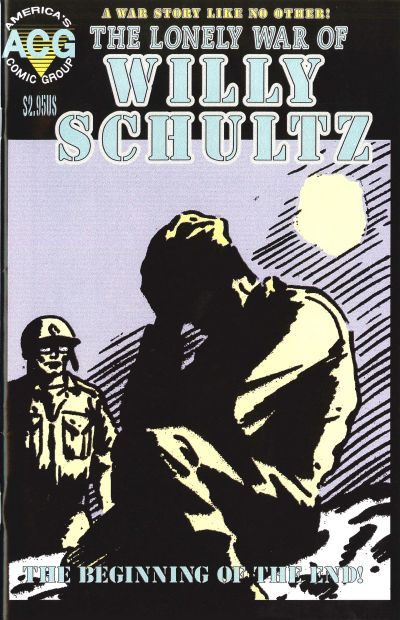 Cover for The Lonely War of Willy Schultz (Avalon Communications, 1999 series) #[3]