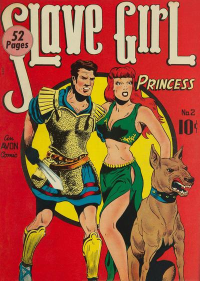 Cover for Slave Girl Comics (Avon, 1949 series) #2