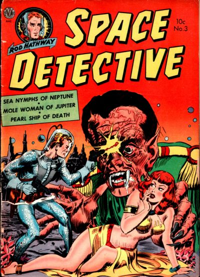 Cover for Space Detective (Avon, 1951 series) #3