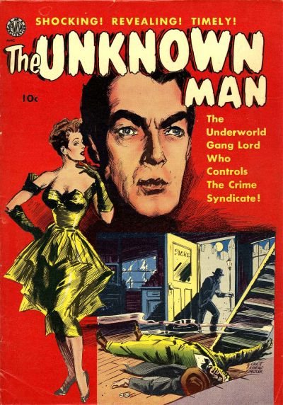Cover for The Unknown Man (Avon, 1951 series) #[nn]