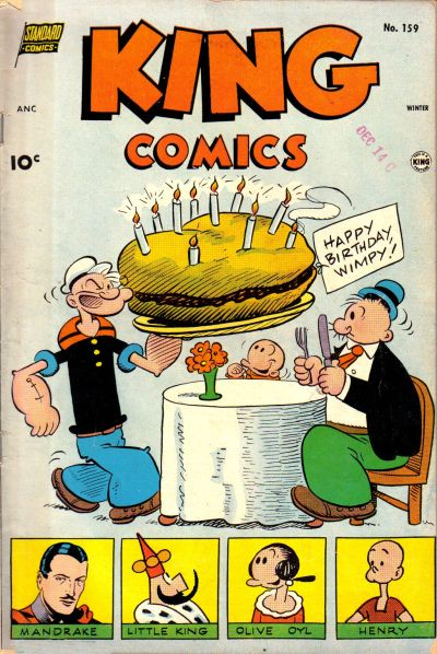 Cover for King Comics (Pines, 1950 series) #159