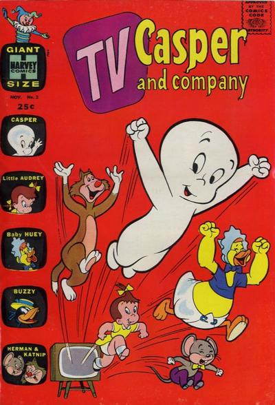 Cover for TV Casper & Company (Harvey, 1963 series) #2