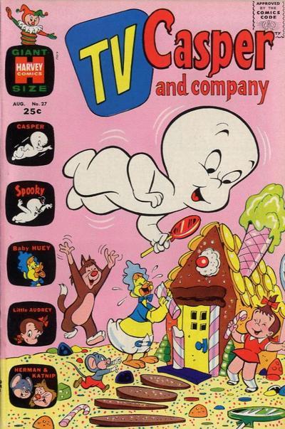 Cover for TV Casper & Company (Harvey, 1963 series) #27