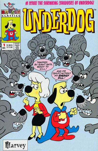 Cover for Underdog (Harvey, 1993 series) #1