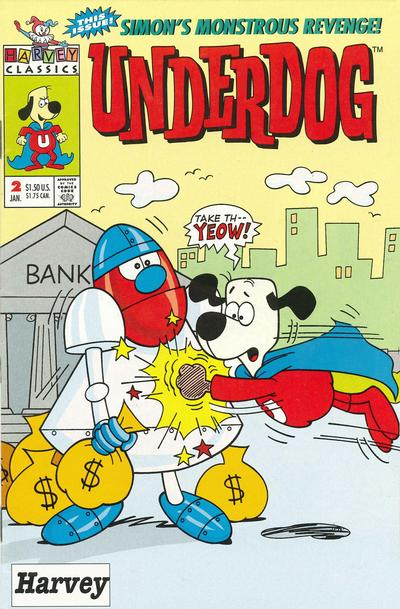Cover for Underdog (Harvey, 1993 series) #2