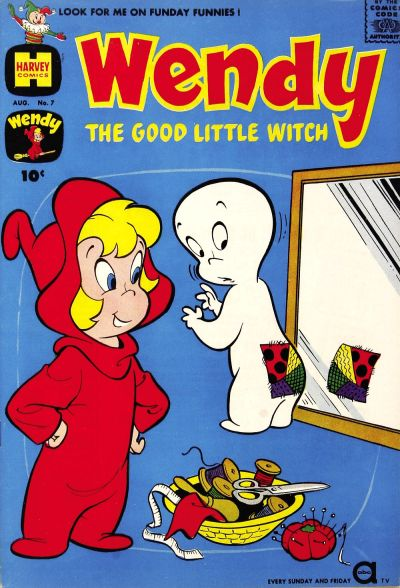 Cover for Wendy, the Good Little Witch (Harvey, 1960 series) #7