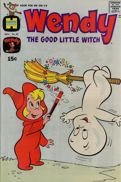 Cover for Wendy, the Good Little Witch (Harvey, 1960 series) #63