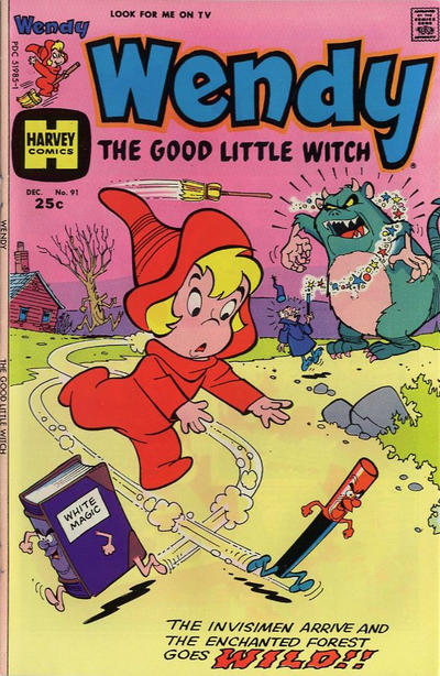 Cover for Wendy, the Good Little Witch (Harvey, 1960 series) #91