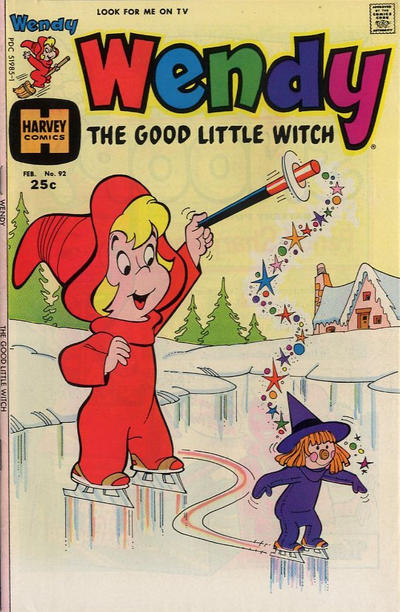 Cover for Wendy, the Good Little Witch (Harvey, 1960 series) #92