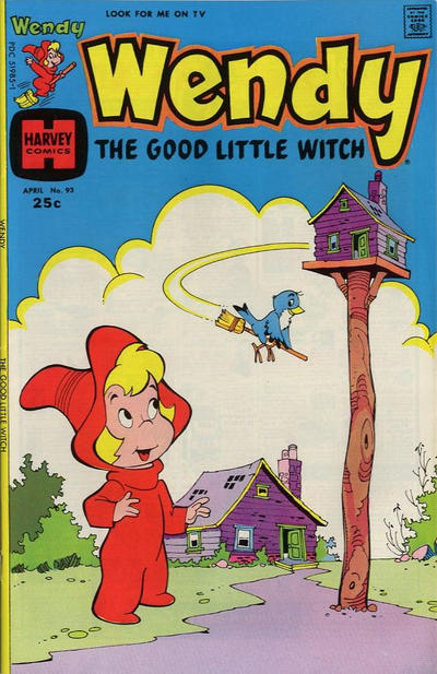 Cover for Wendy, the Good Little Witch (Harvey, 1960 series) #93