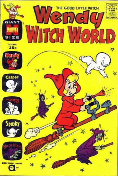 Cover for Wendy Witch World (Harvey, 1961 series) #1