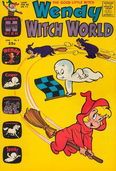 Cover for Wendy Witch World (Harvey, 1961 series) #5