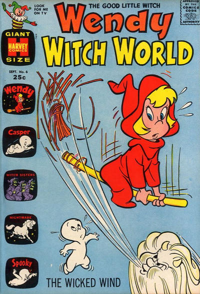 Cover for Wendy Witch World (Harvey, 1961 series) #6