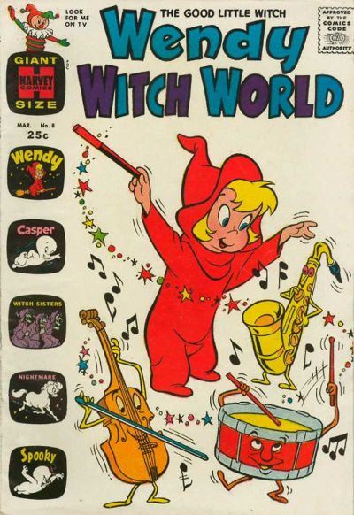 Cover for Wendy Witch World (Harvey, 1961 series) #8