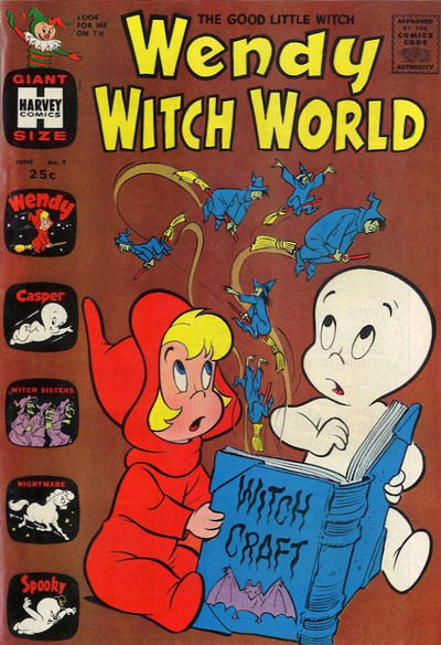 Cover for Wendy Witch World (Harvey, 1961 series) #9