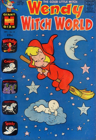 Cover for Wendy Witch World (Harvey, 1961 series) #10