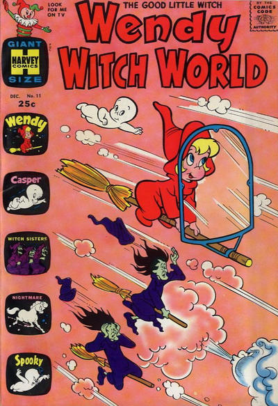 Cover for Wendy Witch World (Harvey, 1961 series) #11