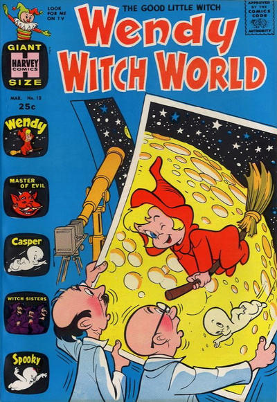 Cover for Wendy Witch World (Harvey, 1961 series) #12
