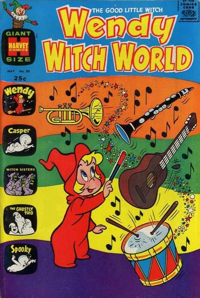 Cover for Wendy Witch World (Harvey, 1961 series) #20