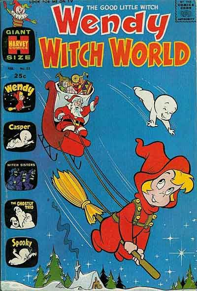 Cover for Wendy Witch World (Harvey, 1961 series) #23