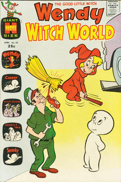 Cover for Wendy Witch World (Harvey, 1961 series) #28