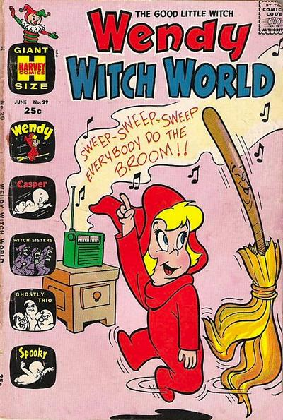 Cover for Wendy Witch World (Harvey, 1961 series) #29
