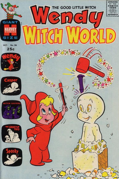 Cover for Wendy Witch World (Harvey, 1961 series) #36
