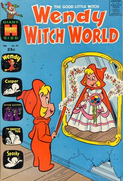 Cover for Wendy Witch World (Harvey, 1961 series) #38