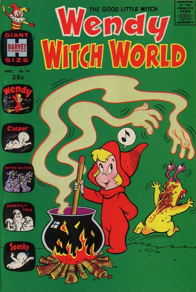 Cover for Wendy Witch World (Harvey, 1961 series) #39