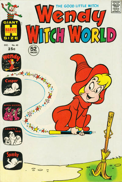 Cover for Wendy Witch World (Harvey, 1961 series) #42