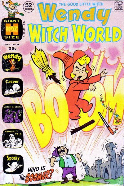 Cover for Wendy Witch World (Harvey, 1961 series) #44