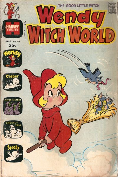 Cover for Wendy Witch World (Harvey, 1961 series) #49
