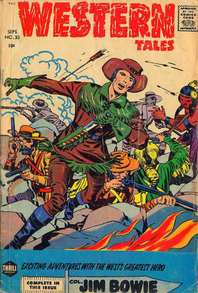 Cover for Western Tales (Harvey, 1955 series) #33