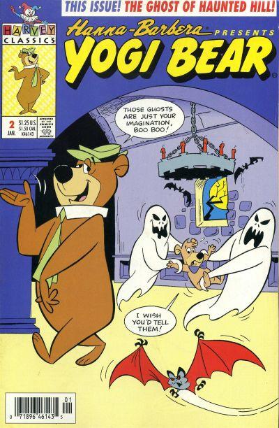 Cover for Yogi Bear (Harvey, 1992 series) #2