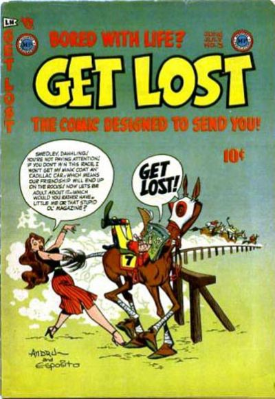 Cover for Get Lost (Mikeross Publications, 1954 series) #3