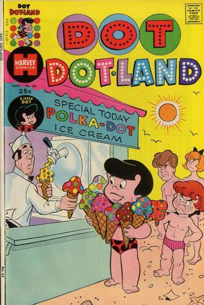 Cover for Dot Dotland (Harvey, 1974 series) #63