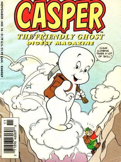 Cover for Casper Digest Magazine (Harvey, 1991 series) #14