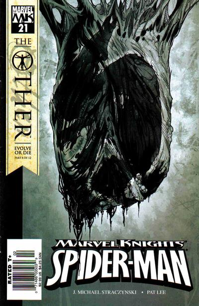 Cover for Marvel Knights Spider-Man (Marvel, 2004 series) #21 [Newsstand]
