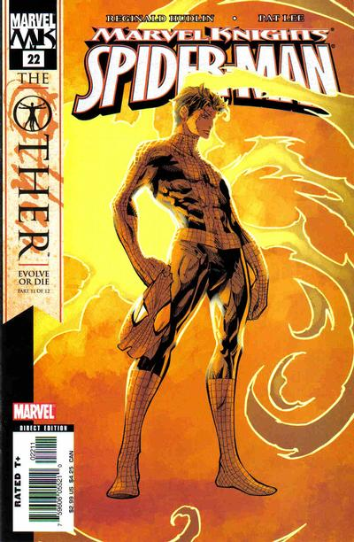 Cover for Marvel Knights Spider-Man (Marvel, 2004 series) #22 [Newsstand]
