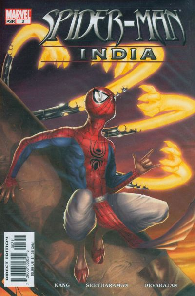 Cover for Spider-Man: India (Marvel, 2005 series) #3