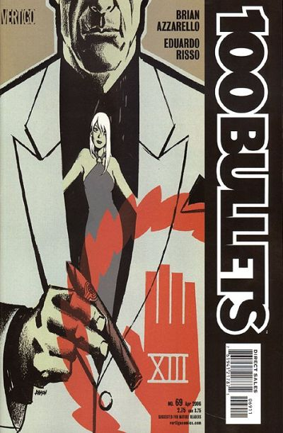 Cover for 100 Bullets (DC, 1999 series) #69