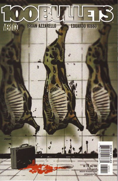 Cover for 100 Bullets (DC, 1999 series) #70