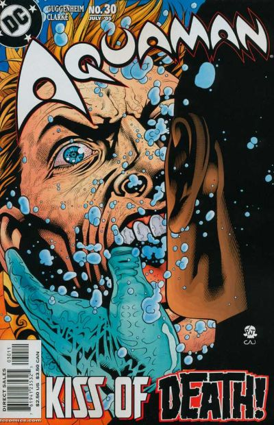 Cover for Aquaman (DC, 2003 series) #30
