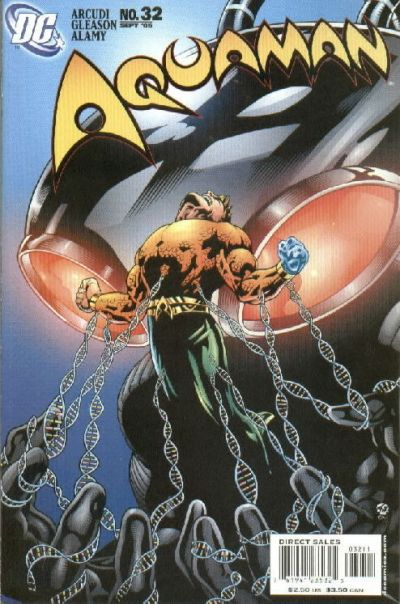 Cover for Aquaman (DC, 2003 series) #32